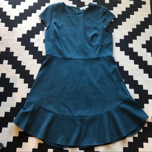 Loft Cap Sleeve Dress • Size 14